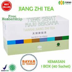 Harga Tiens Teh Penurun Asam Urat Jiang Zhi Tea Paket Promo Tsmb 40 Sachet Seken
