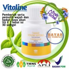 Jual Tiens Vitaline Isi 30 Softgel Pemutih Kulit Manjur Top By Afiyah Herbal Branded Original