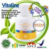 Spesifikasi Tiens Vitaline Isi 30 Softgel Pemutih Serta Pembersih Kulit Manjur Top By Afiyah Herbal Baru