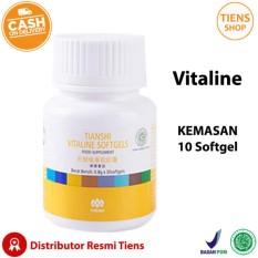 Tiens Vitaline Nutrisi Pemutih Tubuh Kemasan 10 Softgel + Free Gift + Member Card Tiens Shop