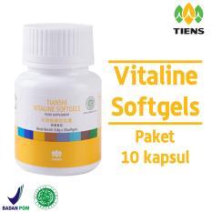 Beli Tiens Vitaline Softgel Vitamin Pemutih Kulit Ori Tiens Anti Aging Perawatan Jerawat Paket 10 Kapsul Promo Murah Jawa Timur