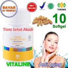 Harga Tiens Vitaline Vitamin E Pembersih Flek Dan Jerawat By Tiens Sehat Abadi Isi 10 Softgel Yang Murah