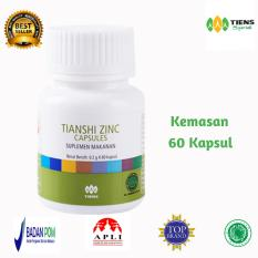 Harga Tiens Zinc Paket 60 Kapsul Free Member Card Afi Herbal Promo 2 Original