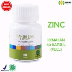 Tiens Zinc Capsules Original Tianshi 1 Botol Isi 60 Kapsul Terbaru