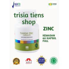 Harga Tiens Zinc Capsules Original Tianshi 1 Botol Isi 60 Kapsul Free Member Card Trisia Tiens Shop Lengkap
