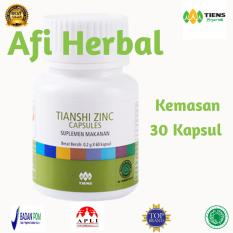 Tiens Zinc Capsules Kemasan 30 Kapsul Free Member Card Afi Herbal Di Jawa Timur