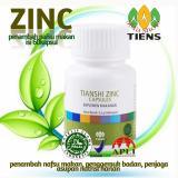 Spesifikasi Tiens Zinc Capsules Penambah Nafsu Makan Isi 60Kapsul Promo Silfa Shop