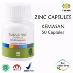 Beli Tiens Zinc Capsules Penggemuk Badan Kemasan 50 Capsules Free Member Card Trisia Tiens Shop Tiens Murah