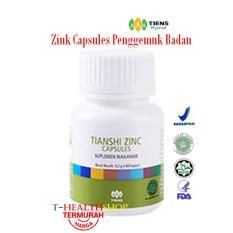 Spek Tiens Zinc Capsules Penggemuk Badan Penambah Nafsu Makan Jawa Timur