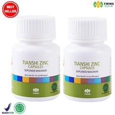 Harga Tiens Zinc Capsules Suplemen Penggemuk Badan 2 Botol Tiens Baru