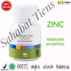 Harga Tiens Zinc Herbal Capsules Suplemen Penggemuk Penambah Berat Badan Kemasan 40 Kapsul By Sahabat Tiens Dan Spesifikasinya