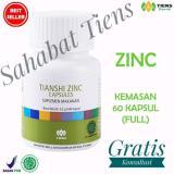 Ulasan Tiens Zinc Herbal Capsules Suplemen Penggemuk Penambah Berat Badan Kemasan 60 Kapsul Full