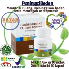 Promo Promo Best Seller Peninggi Badan Tiens 100 Herbal Tiens Zinc Kapsul Dan Nhcp Penambah Dan Peninggi Badan Terbukti 100 Ampuh By Afiyah Herbal Di Jawa Timur