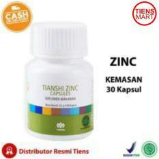 Tiens Zinc Penggemuk Badan 30 Kapsul Free Member Card Tiens Mart Indonesia