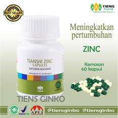 Promo Tiens Zinc Penggemuk Badan Original Kemasan 60 Kapsul By Tiens Ginko