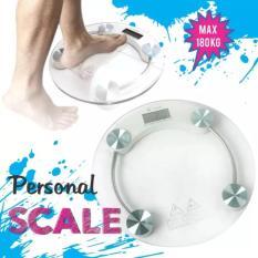 Timbangan Badan Digital - Digital Scales - Body Scale - Personal Scale LCD - Kaca Transparan