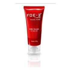 Tje Fuk FOE-2 Facial Foam With Scrub 50gr