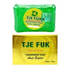 Tje Fuk Original Transparent Soap Anti Septic - Hijau - 100gr