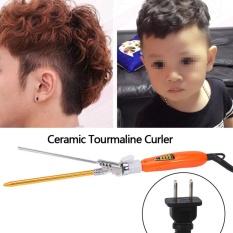 Toko Tmishion 9Mm Deep Curly Bunches Keramik Besi Pemanas Rambut Wave Curler Emas Steker International Online Tiongkok
