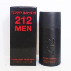 Tommy Hanson 212 Men Black Classic Edp 100 Ml Hanson Diskon 30