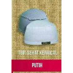 Topi / Peci / Kopiah / Kupluk Sehat Kenrical Bio Energi Ion Negatif Infra Merah Murah Original - Putih