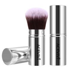 Toprank Acevivi Kuas Kabuki Yang Bisa Dikencangkan Concealer Foundation Tersipu Malu Wajah Bubuk Bronzer Riasan Brushes-Internasional