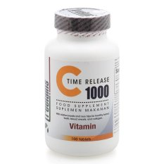 Cara Beli Treelains C Time Release With Rosehips 100 Tablet 1000 Mg