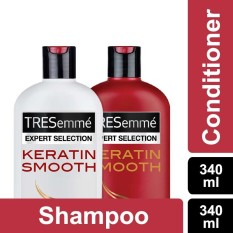 Tresemme Shampoo Keratin Smooth 340ml + Conditioner 340ml