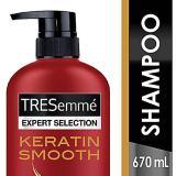 Beli Tresemme Shampoo Keratin Smooth 670Ml Cicilan