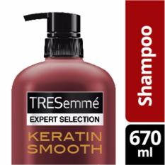 Beli Tresemme Shampoo Keratin Smooth 670Ml Lengkap