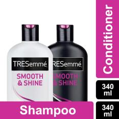 Tresemme Shampoo Smooth and Shine 340ml + Conditioner 340ml