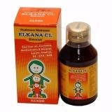 Jual Delin Store Elkana Cl Syrup 120Ml 1 Botol Satu Set