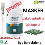 Spesifikasi Tuens Spirulina Masker Wajah Paket Promo Tiens Terbaru