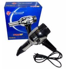 TwinDog - Hair Dryer / Pengering Rambut TD-6618 Dilengkapi tombol pendingin garansi 1 tahun