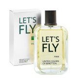 Benetton Let S Fly For Men 100 Ml Edt Original