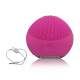 Jual Uinn Electric Ultrasonic Kulit Deep Cleansing Brush Wajah Pijat Tahan Air Brush Rose Merah Intl Oem Original