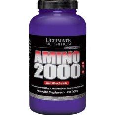 Jual Ultimate Nutrition Amino 2000 330 Tablets Branded