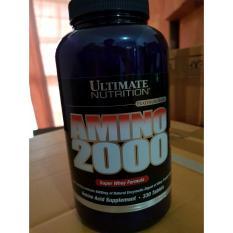 Diskon Ultimate Nutrition Amino 2000 330 Tabs Ultimate Nutrition Di Jawa Barat