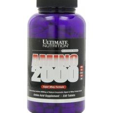 Beli Ultimate Nutrition Amino 2000 Repack Eceran 100 Tablet Pakai Kartu Kredit