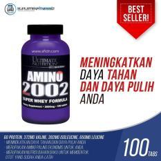 Jual Ultimate Nutrition Amino 2002 100 Tabs Branded