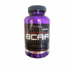 Spesifikasi Ultimate Nutrition Bcaa Capsules 500 Mg 120 Caps Terbaru