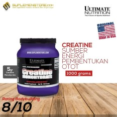 Review Ultimate Nutrition Creatine Monohydrate Powder 1000 Gr Banten