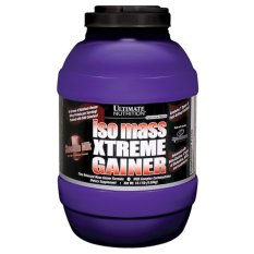 Ultimate Nutrition Iso Mass Xtreme Gainer 10 Lbs Strawberry Terbaru