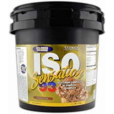 Jual Ultimate Nutrition Iso Sensation 5 Lb Chocolate Branded Murah