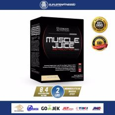 Harga Ultimate Nutrition Muscle Juice 2 Lbs Revolution Rasa Vanila Original