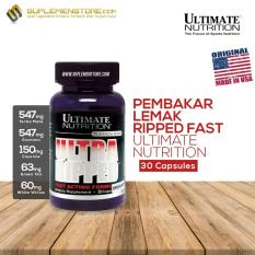 Ultimate Nutrition Ultra Ripped Fast Acting Formula 30 Capsules Di Banten