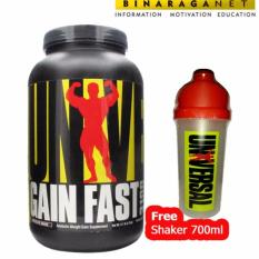 Toko Universal Nutrition Gain Fast 5 Lbs Chocolate Online Di Indonesia