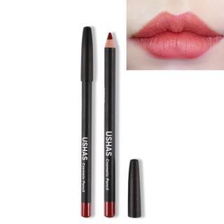 Ushas Lip Liner Korean dan Eyeshadow 9 nude Color 3 in 1 cosmetic pencil thumbnail