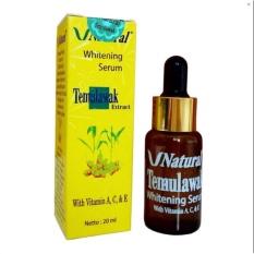 V Natural Temulawak Extract Whitening Serum - Original Terdaftar BPOM