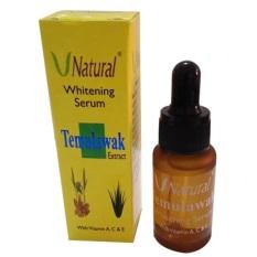 V Natural Temulawak Whitening Serum